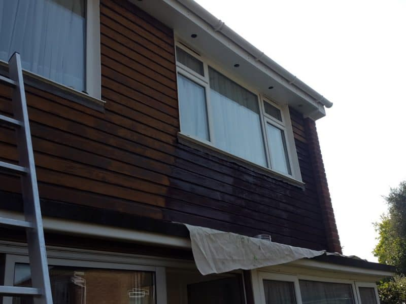 Wood Cladding Treatment in Windsor