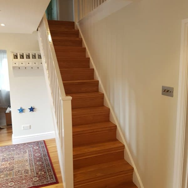 Painting and Decorating Entrance Hall and Staircase in Windsor