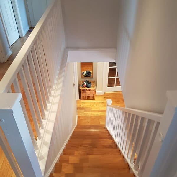 Painting Staircase/Bannister in Windsor